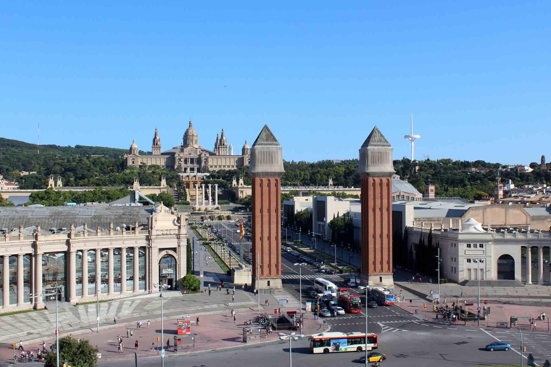 Transfer de Sants Montjuïc al Aeropuerto de Barcelona