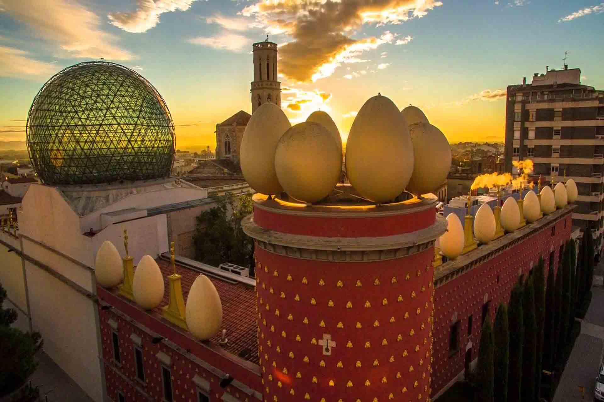 Visitas al Teatro Museo Dalí en Figueres